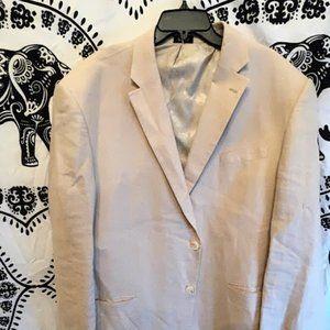 Men's Saddlebred Linen Suit Jacket